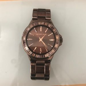 MICHAEL KORS beautiful brown watch